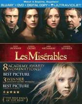 Les Miserables (Blu-ray + DVD + Digital)