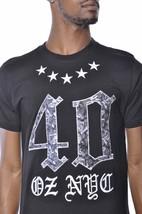 1183ml Quaranta Ounce New York Rose E Stars T-Shirt Nwt image 2