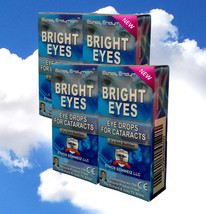 Ethos N-Acetyl-Carnosine Bright Eyes Eye Drops for Cataracts 4 x Boxes  - $272.97