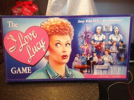 The I Love Lucy Board Game ZANY WILD FUN FOR EVERYONE Collectible New Co... - $22.99