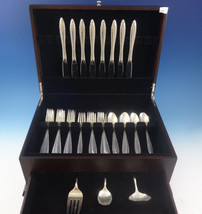 Michele by Wallace Sterling Silver Flatware Set For 8 Service 35 Pieces - $2,100.00