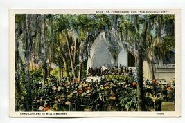 Band Concert in Williams Park St Petersburg Florida - $1.99