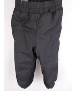 COLUMBIA YOUTH SNOW PANTS CHILD SZ 2/3 BLACK SKI PANTS ADJUSTABLE WAIST EUC - £18.10 GBP