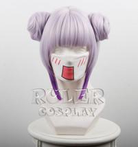 Miss Kobayashi's Dragon Maid Kamui Kanna Kimono Purple Cosplay Buns Wig - $20.99