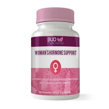 Bud Functional Menopause Relief Supplement - with Vitex Red Raspberry - for H... - $34.63