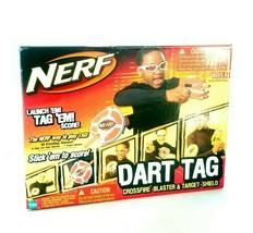 Rare Hasbro 2005 Nerf Dart Tag Crossfire Red Brand New In Box - $70.13