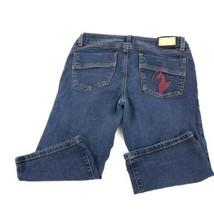 Baby Phat Juniors Blue Capri Jeans 5 - $29.69