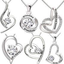 I Love You To The Moon & Back Mom Necklace & Pendant Mothers Day Gift - $9.99