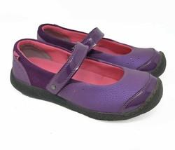 KEEN Women's Sz 5 EU 37 Purple Mary Jane Strap Ballet Flats  - $35.99