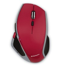 Portable Gaming Mouse, Red 8-button Wireless Led Usb Ergonomic Gaming Mouse - $47.99