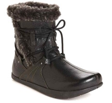 Womens Earth Central Too Winter Boots - Black Tumble Aniline Vintage Siz... - £49.38 GBP