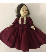 Madame Alexander Kins Little Women Marme Missing hat needs hair fixed - $18.69