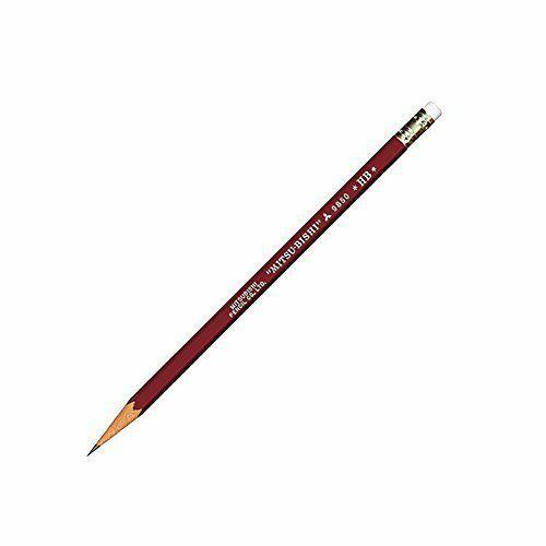 K9850HB Mitsubishi Pencil eraser with pencil 9850 HB 12 pieces