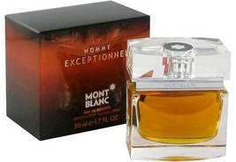 Mont Blanc Homme Exceptionnel Cologne 1.7 Oz Eau De Toilette Spray image 2