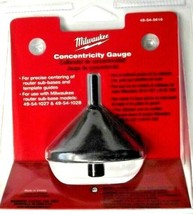 Milwaukee 49-54-5616 Router Centering Cone Concentricity Gauge - $5.94