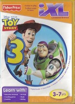 Disney Fisher Price iXL Learning System TOY STORY 3 Ages 3-7 6 ways to Play - $6.64
