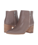 NEW CHARLES DAVID BROWN TAUPE LEATHER  BOOTS SIZE 7.5 SIZE 8 SIZE 8.5  $169 - $54.99