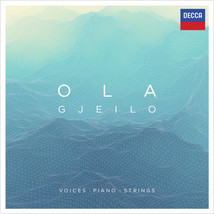 OLA GJEILO - VOICES-PIANO-STRINGS - CD