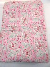 IKEA Rosali Paisley Cath Kidston Pink Reversible Twin Duvet Cover - $48.00