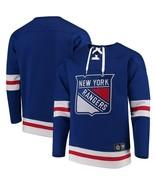 NEW YORK RANGERS FANATICS NHL Breakaway Lace-Up Sweatshirt Men's L or XL... - $39.99