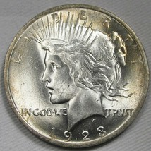 1923-P DDR Peace Dollar NCH UNC Coin AF42 - $39.60