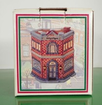 Christmas Village Home Town America Collection Heilig & Meyers Euc In Box - $14.84