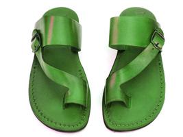 Leather Sandals for Men ASHER by SANDALIM Biblical Greek Jesus Sandals R... - $46.47 CAD+