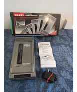 Solidex 928A VHS Video Cassette Rewinder In Box Tested and Working  - $19.86