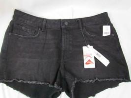 NWT M1858 Shorts Black 5 Pocket Frayed 14/32 Rockwell Org $45.00 - $26.59