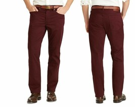 Polo Ralph Lauren Men's Prospect Straight Stretch Jeans, Red, Size 33X32, $98 - $54.44