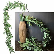 DearHouse 5.5Ft Seeded Eucalyptus Garland, Artificial Vines Faux Eucalyptus - $46.05