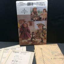 """Vogue Craft 18"""" Doll Party Dress Clothes Sewing Pattern 9965 659 Linda Carr - $16.54"""
