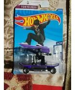 2020 Hot Wheels TOKYO 2020 purple SKATE GROM 6/10 Olympic Games - $17.99