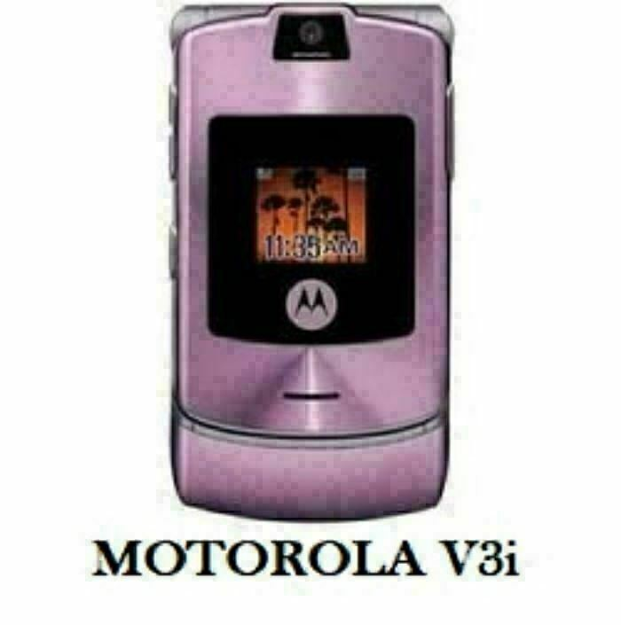Primary image for Authentic ORIGINAL Motorola V3i Pinky Flip 100% UNLOCKED 2G Cell Phone WARRANTY
