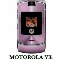 Authentic ORIGINAL Motorola V3i Pinky Flip 100% UNLOCKED 2G Cell Phone WARRANTY image 1