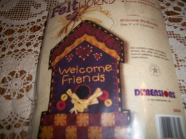 Welcome Birdhouse Feltworks Applique Kit - $10.00