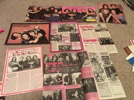 Bwitched teen magazine pinup clippings lot 90's girl pop group 16 magazine Bop