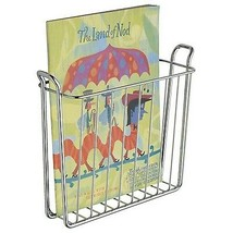 "3.3"" Newspaper Magazine Metal Wire Holder Wall Mount Organizer Storage NEW - $31.77"