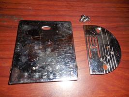 Sears 148.12040 Bobbin Cover w/Friction Spring & Throat Plate w/Screws U... - $15.00