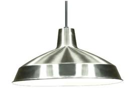 Nuvo Lighting SF76/661 Warehouse Shade, Brushed-Nickel - $39.52