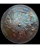 Roman Shield in Dark Bronze finish replica reproduction - $117.81