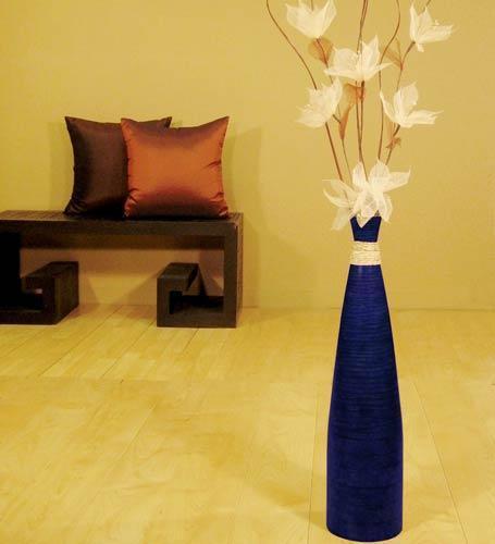 24 Tall Blue Bud Floor Vase Decorative Vases And 46 Similar Items