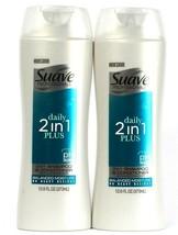 2 Suave Professionals Daily 2in1 Plus Shampoo Conditioner Balance Moisture12.6oz - $20.99