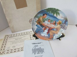 KNOWLES PLATE DITES-MOI SOUTH PACIFIC SERIES 3RD ISSUE LTD ED 1565 COA B... - $3.91
