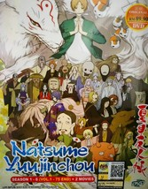 NATSUME YUUJINCHOU SEASON 1-6 VOL.1-75 END + 2 MOVIE Ship From USA