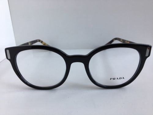 998cb0872d7 New PRADA VPR 0T6 1AB-1O1 50mm Round Black and 50 similar items