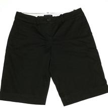 Tommy Hilfiger Women's Bermuda Golf Shorts Size 6 Walking Shorts Black - $17.77