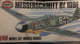 Airfix 1:48 Messerschmitt Bf-109F Me-109F Plastic Model Kit #04101 - $14.85