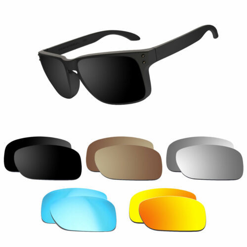 Optico Replacement Polarized Lenses for Oakley Holbrook Sunglasses Sport Fashion