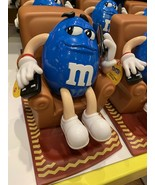 2 M&M's Candy Dispensers:  Recliner Chair Remote Control Phone &  Saxophone - $148.50